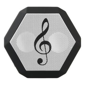 Treble clef speaker