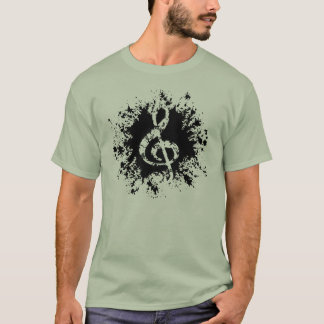 treble-clef-splat-LTT T-Shirt