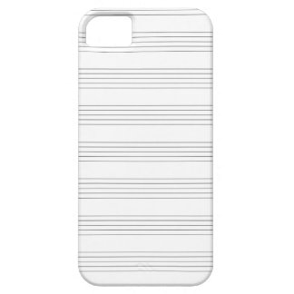Treble Clef Staves iPhone SE/5/5s Case