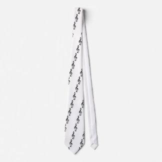 Treble Clef Tie