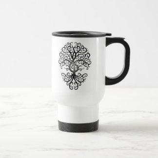 Treble Clef Tree Mug