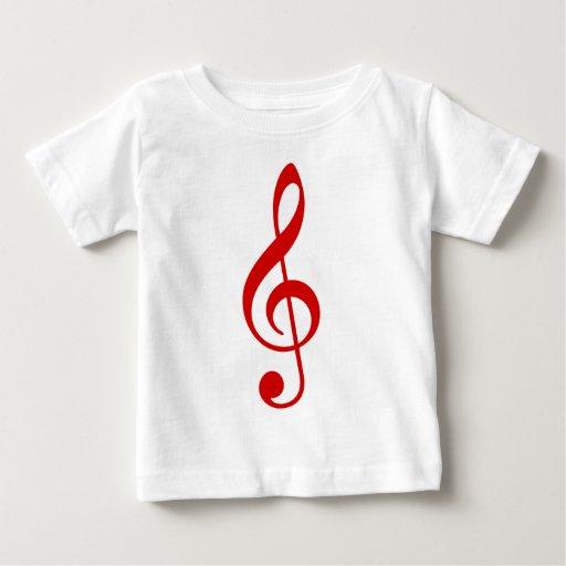 Treble Clef Tshirts
