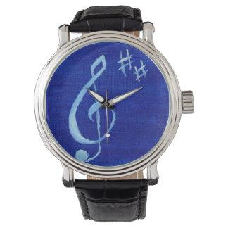 Treble Clef Wrist Watch