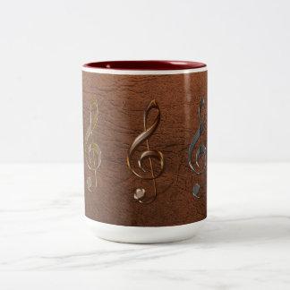Treble Cleff Music-Lover Mugs