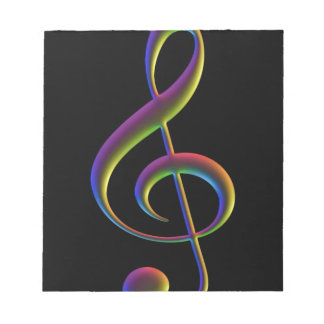 Treble Cleff Notepads
