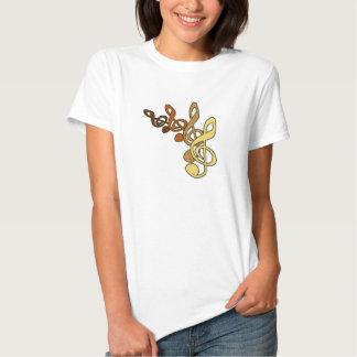 Treble Clefs Music T-shirt