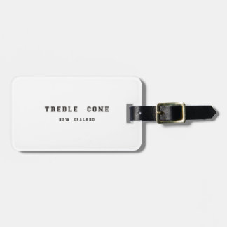 Treble Cone New Zealand Luggage Tag