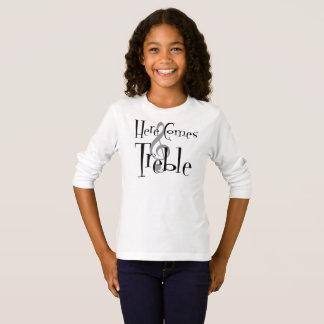 Treble Girl's Long Sleeve T-Shirt