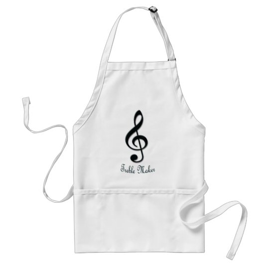 Treble Maker Adult Apron