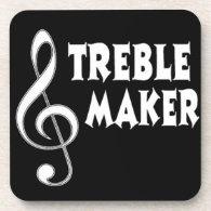 Treble Maker Beverage Coaster