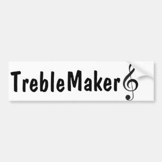 Treble Maker bumper sticker
