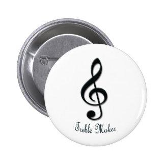 Treble Maker Pin