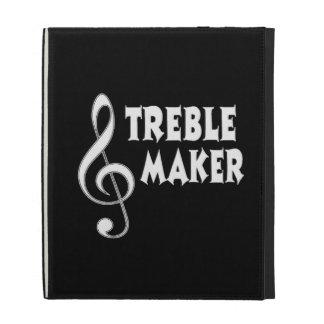 Treble Maker iPad Folio Cases