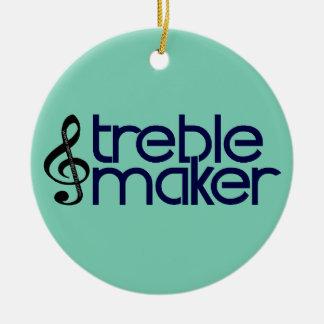 Treble Maker Ceramic Ornament