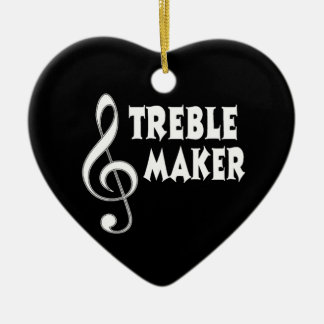 Treble Maker Ceramic Ornament