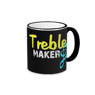Treble Maker For Dark Products Ringer Coffee Mug
