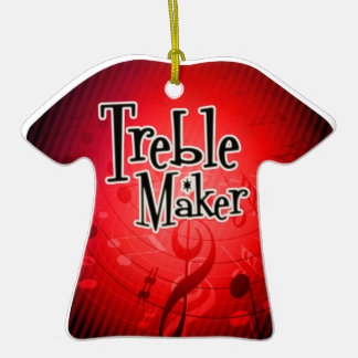 Treble Maker Keepsake Ornament