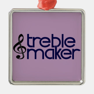 Treble Maker Metal Ornament