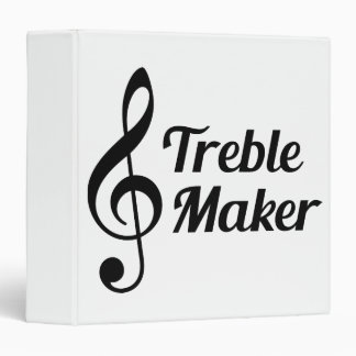 Treble Maker Musical Humour Binder