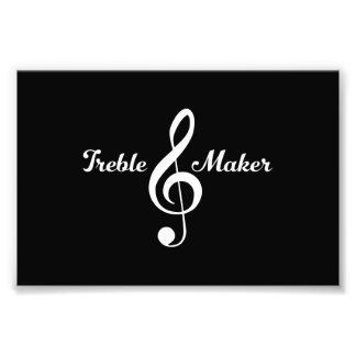 Treble Maker Photo Print