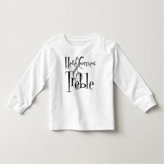 Treble Toddler Long Sleeve T-Shirt