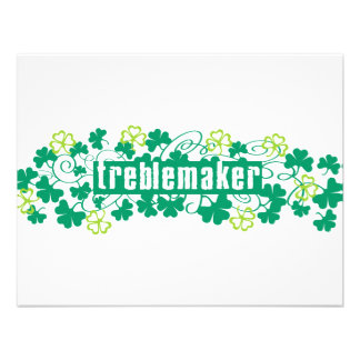 Treblemaker Personalized Announcements