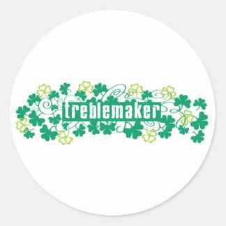 Treblemaker Classic Round Sticker
