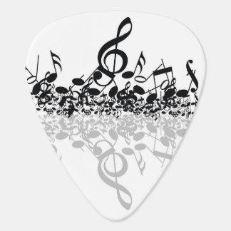 Treble's Shadow Guitar Pick (five)