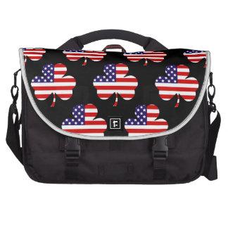Trébol americano bolsas de ordenador