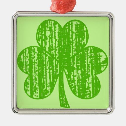 Trébol apenado del día del St Patricks Adorno