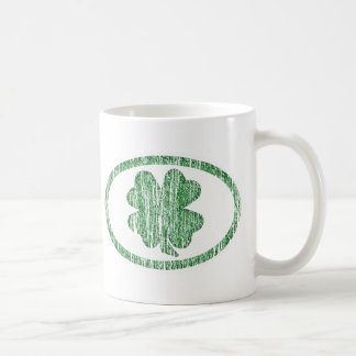 Trébol apenado taza