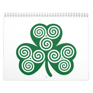 Trébol céltico calendario