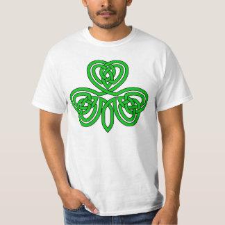 Trébol céltico camisas