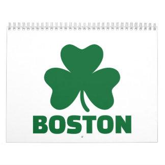 Trébol de Boston Calendarios