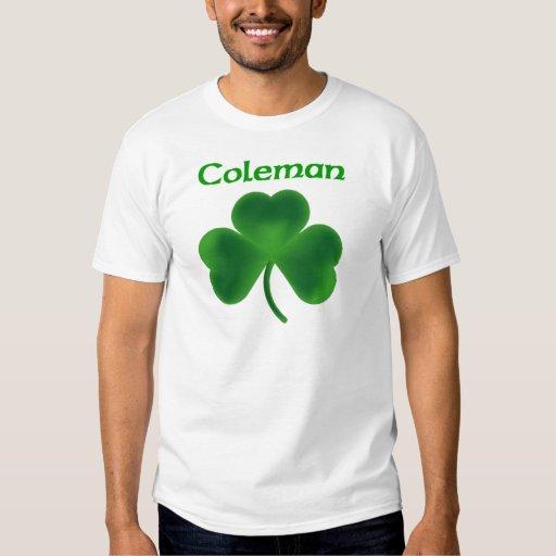 Trébol de Coleman Camisas
