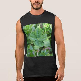 Trébol de cuatro hojas camiseta