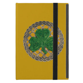 Trébol de encargo del oro en el mini caso del iPad iPad Mini Carcasas