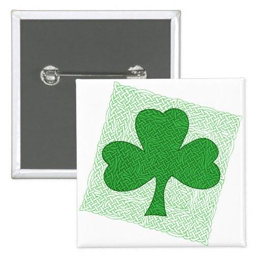 Trébol de Knotwork del Celtic Pins