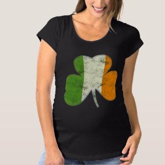 Trébol de la bandera de Irlanda Remeras