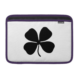 Trébol de la Cuatro-Hoja Fundas MacBook