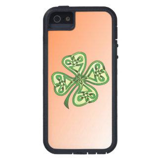 Trébol de la Cuatro-Hoja iPhone 5 Carcasa