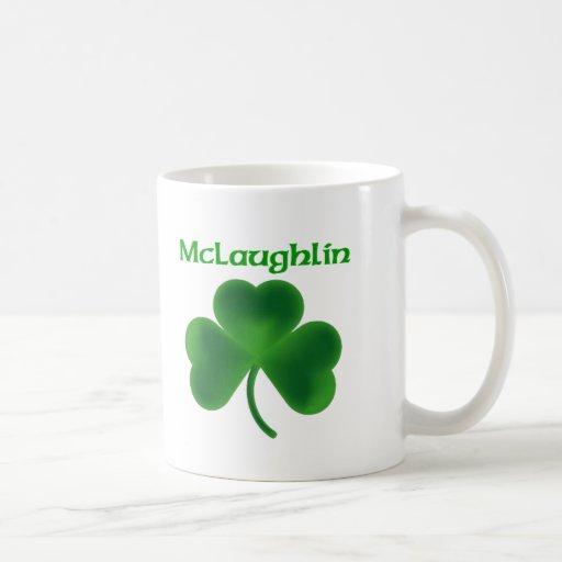 Trébol de McLaughlin Tazas De Café