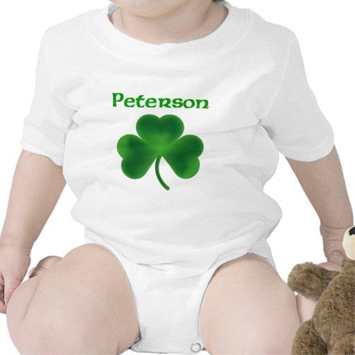 Trébol de Peterson Traje De Bebé