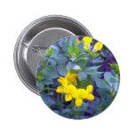 Trébol de serradella 1 botón pin