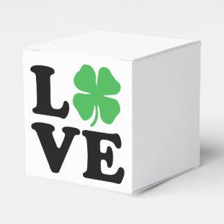 Trébol del amor caja para regalos