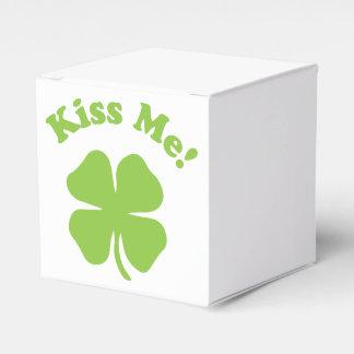Trébol del amor cajas para regalos de fiestas