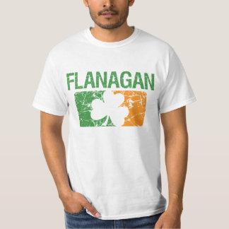 Trébol del apellido de Flanagan Playera