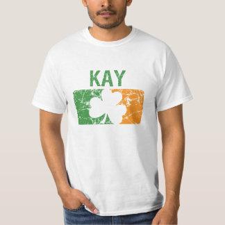 Trébol del apellido de Kay Playera
