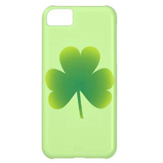 Trébol del día de San Patricio Funda Para iPhone 5C