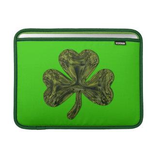 Trébol del día de St Patrick Funda Para Macbook Air